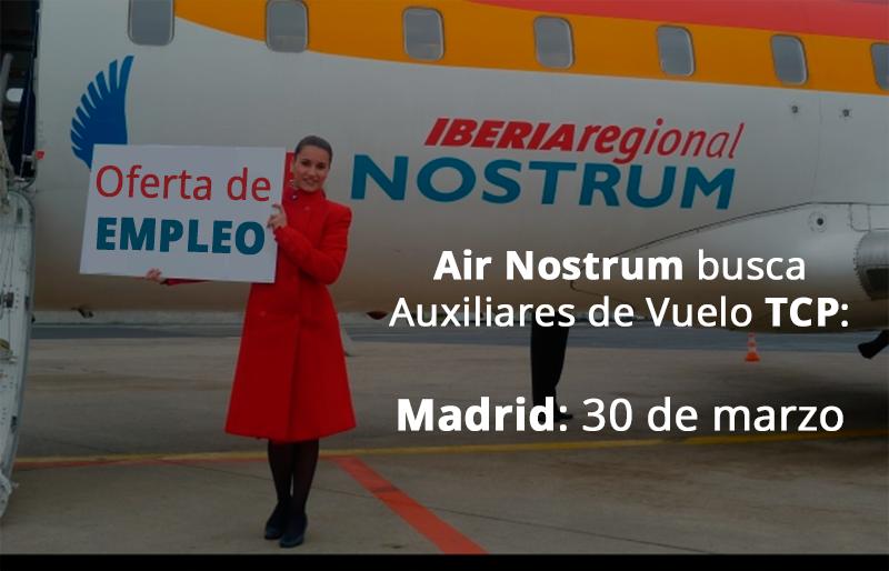 Oferta de empleo de air nostrum el 30 de marzo jornada de - Ofertas de empleo madrid ...